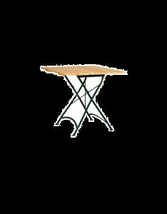 Klassischer Gastronomietisch für den Biergarten