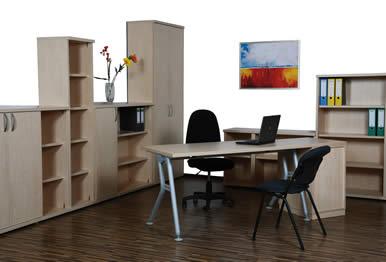 Komplette Büroeinrichtung made by Tischkönig